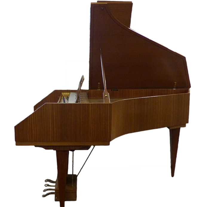Sperrhake Passau Double Manual Harpsichord Mahogany c1970